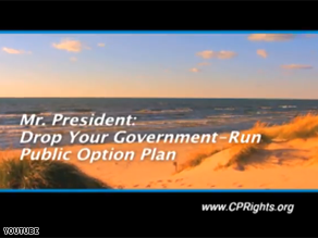 A new ad is directed at Obama while he vacations on Martha&#039;s Vineyard.
