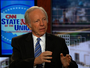 Sen. Lieberman said Sunday that using a special budgetary move in the Senate to pass aspects of health care reform would be 'a real mistake.'