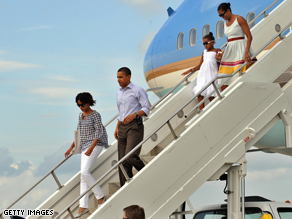 Obama plans to read five books on vacation, the White House said.