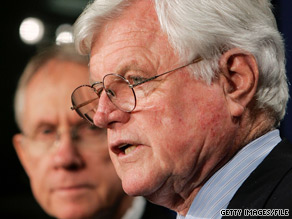 A spokesman for Senate Majority Leader Harry Reid tells CNN that the Nevada Democrat favors a special appointment to fill the late Sen. Ted Kennedy's seat.