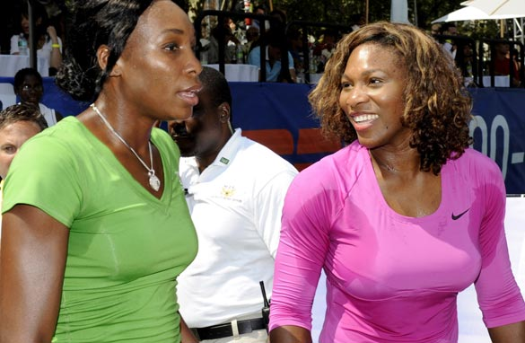 Will anyone be able to get past the formidable challenge of Williams sisters, Venus and Serena?