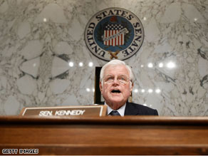 Democratic Sen. Ted Kennedy was a staunch advocate of health care reform.