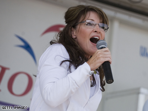 Palin's upcoming book tour will take her to Iowa, the early proving ground for presidential hopefuls.