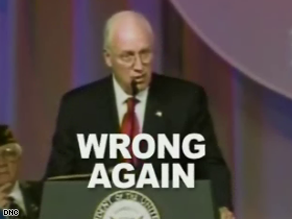 The DNC is taking aim at Dick Cheney in a new ad.
