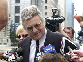 Traficant was released from federal custody Wednesday.