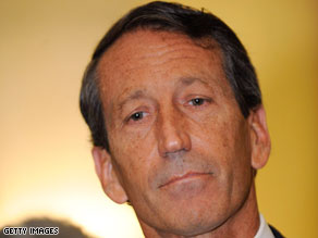 The South Carolina Republican Party voted to censure Sanford in July.