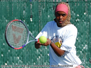 Sadiya Buta, 15, is getting attention for much more than what she wears on the tennis court.