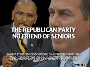 The DNC&#039;s latest ad says the GOP is &#039;no friend of seniors.&#039;