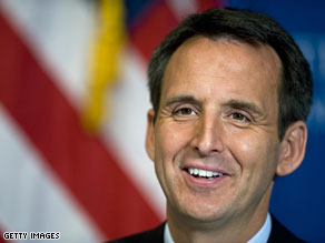 Pawlenty spoke Friday night at the Values Voter Summit in Washington, DC.