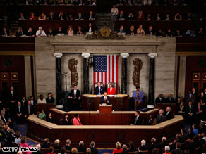 President Obama spoke to a joint session of Congress on Wednesday.