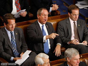South Carolina Republican Rep. Joe Wilson said Sunday that he will not apologize again for his recent outburst during the president's address to Congress.