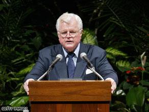 Kennedy began planning funeral before brain tumor.
