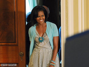 First Lady Michelle Obama will head to Copenhagen, Denmark, next month to promote her hometown of Chicago as the host of the 2016 Olympic Games.