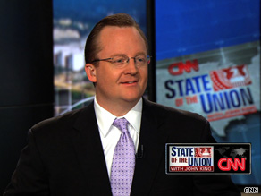 White House Press Secretary Robert Gibbs said Sunday that the president doesn't think growing conservative anger directed at the administration is being motivated by the color of the president's skin.