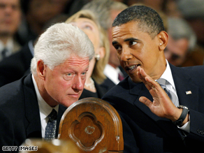 Clinton and Bill Clinton are set to have lunch Monday.