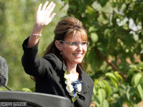 A dinner with Sarah Palin was auctioned off for charity.