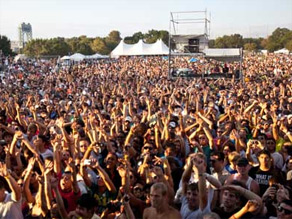 26,000 electronic music fans gathered for the two-day Electric Zoo Festival in New York on Labor Day weekend.