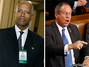 Rep. Hank Johnson (D-GA) and Rep. Joe Wilson (R-SC).