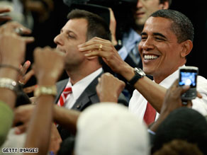 Barack Obama&#039;s approval as president is holding steady in the mid-50&#039;s, according to new CNN Poll of Polls.