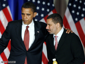 Obama and Paterson will attend the same event in Troy, New York Monday.