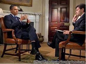 President Obama in an interview on ''This Week'' with George Stephanopoulos.