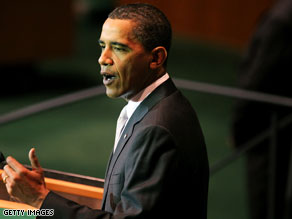 Obama signals pressure on China to take strong steps against climate change .