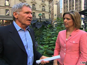 Actor and activist Harrison Ford speaks with Christine Romans about climate change.