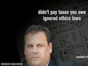 The Corzine campaign accuse Christie of using his position to gain special treatment.