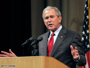 Bush spoke at a 'Get Motivated!' event in Fort Worth, Texas Monday night