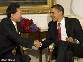 Obama empathizes with new Japanese prime minister.