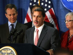 Gov. Paterson's wife says it is 'very unfair,' that her husband be asked not to run for re-election.
