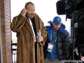 Randy Quaid, left, at the Sundance Film Festival in 2008.