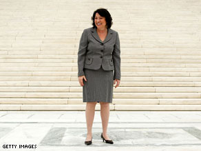 On Saturday, Sonia Sotomayor returns to the baseball diamond, throwing out the first pitch at Yankees Stadium.