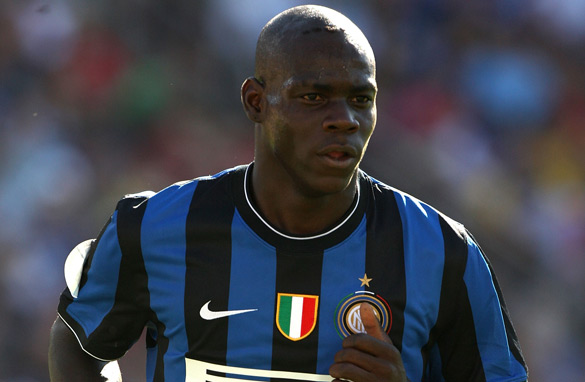 Inter Milan striker Mario Balotelli should be gracing the U-20 World Cup for Italy.