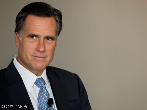 Romney visited Utah and Arizona earlier this week.