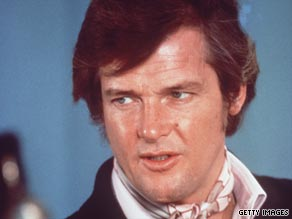 Roger Moore in 70s TV series The Persuaders.