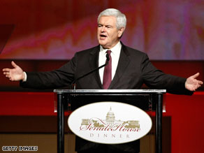 Gingrich group withdraws invite to adult entertainment exec.