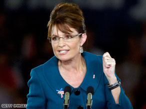 Sarah Palin endorsed Conservative party candidate Doug Hoffman in the upstate New York special election.