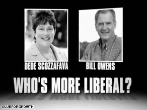 Dede Scozzafava was under intense pressure from conservatives for being too 'liberal'.