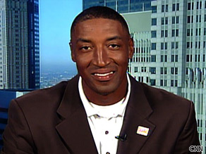 Former Chicago Bull Scottie Pippen feels Chicago has a good change at being selected to host the 2016 Olympic Games.