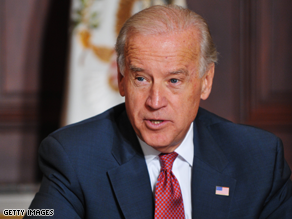 Joe Biden's heading north Monday to show off some money and to rake in some bucks for fellow Democrats.