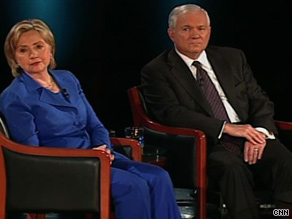 Clinton and Gates spoke with Amanpour Monday in an interview set to air on CNN.