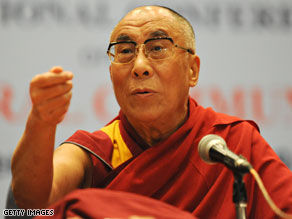 Dalai Lama to meet with Obama after his trip to China.