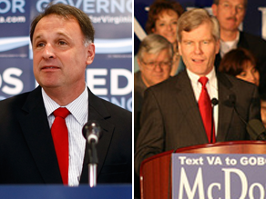The competitive gubernatorial race in Virginia is set to be showered with $1 million cash from the DNC.