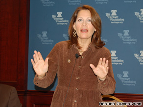 Rep. Michelle Bachmann said Tuesday that 90 days ought to be set aside to consider the final health care bill in the House.