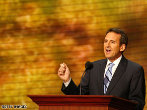 Minnesota Gov. Tim Pawlenty is speaking to the Iowa GOP on Saturday.