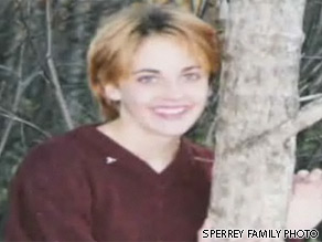 Erin Sperrey was killed by a co-worker on January 2, 2005 in Caribou, Maine.