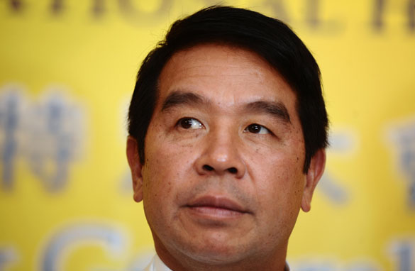 Carson Yeung, chairman of Grandtop International Holdings Limited and now the new owner of Birmingham City FC.
