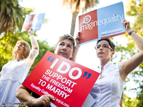 A majority of Americans continue to back civil unions for gay and lesbian couples.