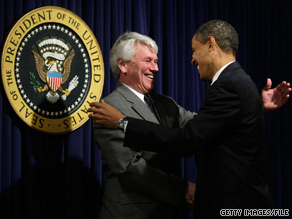 White House counsel Greg Craig, shown here with the president on Inauguration Day, says he has 'no plans to leave whatsoever.'